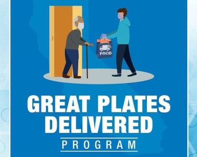 Great Plates Delivered logo