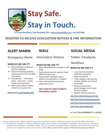 Emergency Alerts Info