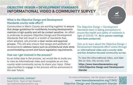 Objective Design and Development Standards Survey