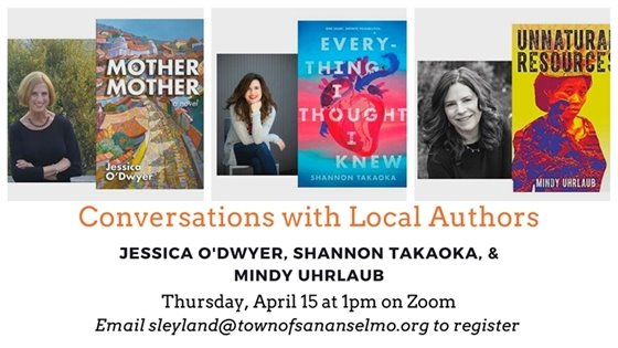 Conversations with authors