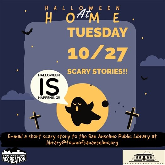 Halloween at Home Scary Stories