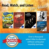 Read, Watch, and Listen for Adults
