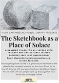 The Sketchbook as a Place of Solace