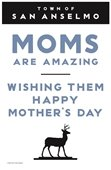 Moms are amazing poster