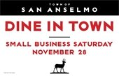 Dine in Town Graphic