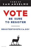 Vote be Sure to Register