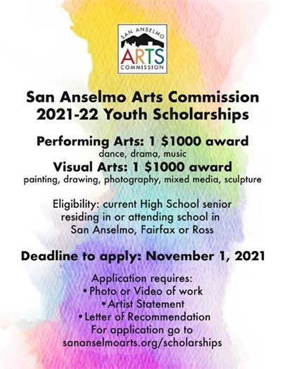 Arts Commission Youth Scholarship