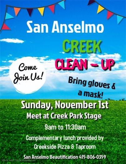 San Anselmo Clean-Up