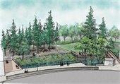 Reimagine Creek Park rendering
