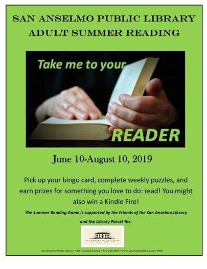 Adult Summer Reading Flyer
