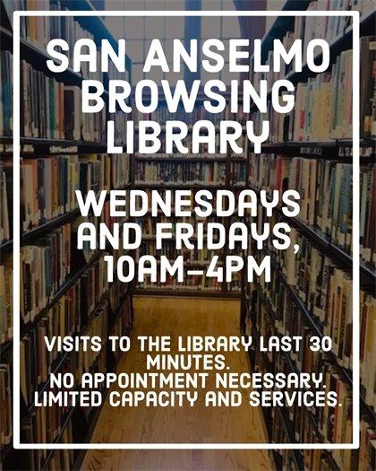 San Anselmo Browsing Library