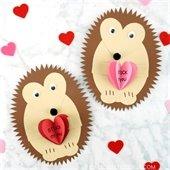 Hedgehog Valentine