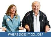Where does it go Joe?