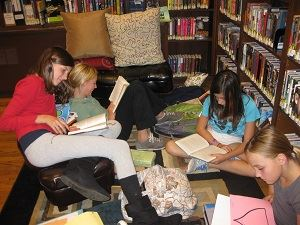 Teens Reading for website Middle School