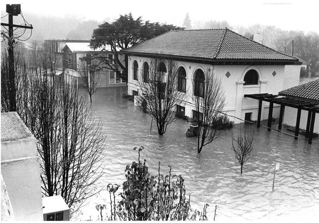 Flooding Town Hall