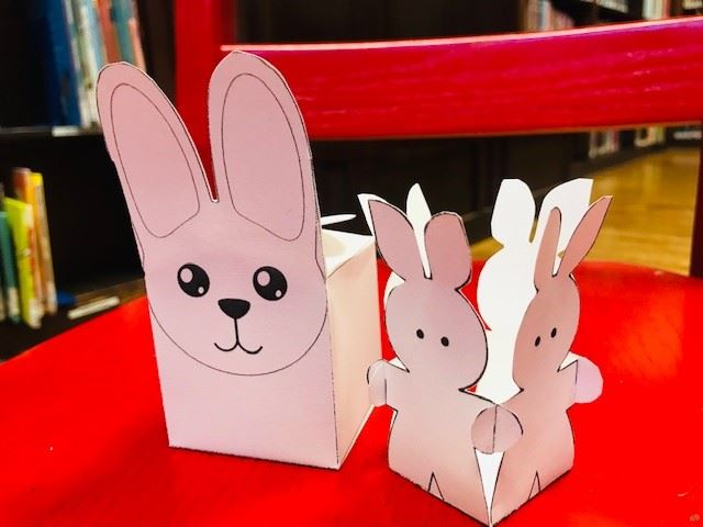 Bunny Box and egg cup