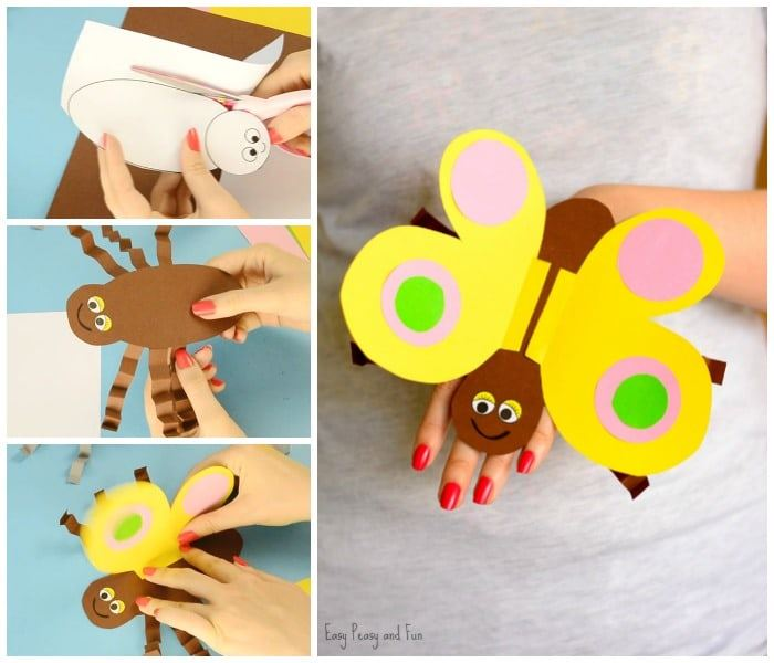 Butterfly-Paper-Hand-Puppet-Craft-for-Kids