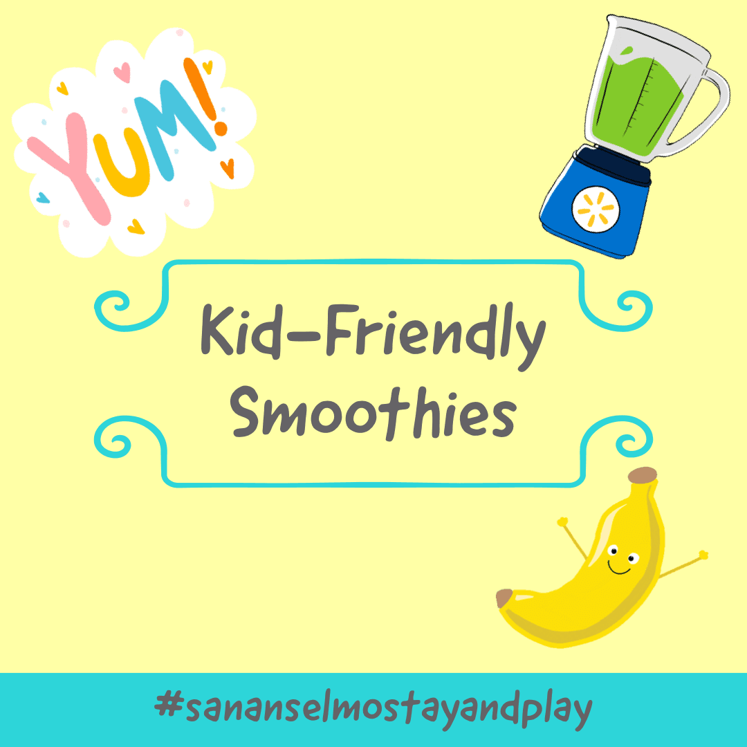Kid Friendly Smoothies Opens in new window