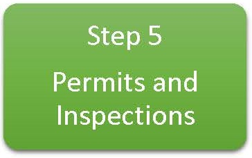 Step 5 Permits and Inspections